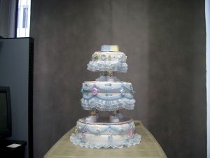 3-Layer Boy Diaper Cake